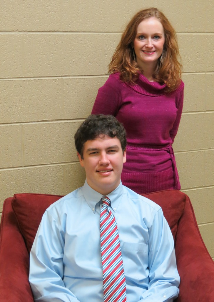STAR Student Joseph Male with STAR Teacher Mary Margarett King