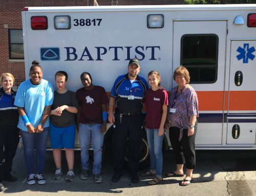 First Responders Visit NAMS Students