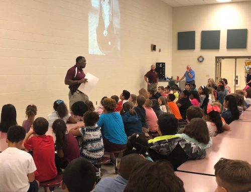 NAES Students Learn About STOP IT App