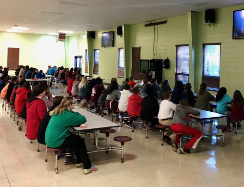 NAMS Students Learn About Safety App