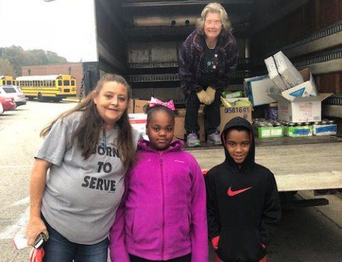 NAES Donates Food to Good Samaritan Center