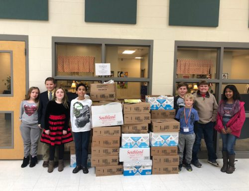 NAES Food Drive Donates to Helping Hands