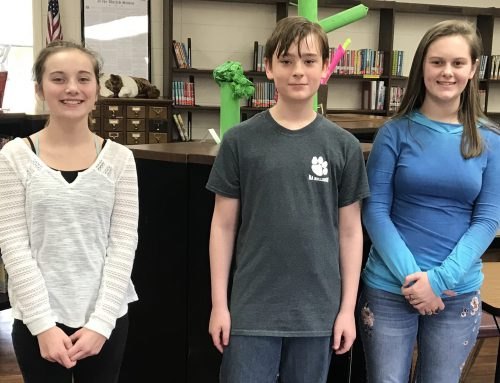 NAMS Spelling Bee Winners