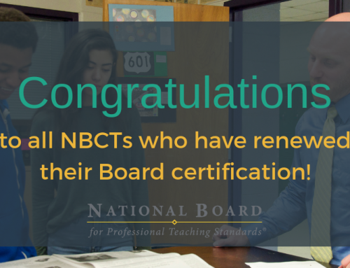 New Albany Teachers Renew National Board Certification