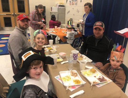 PreK Thanksgiving Feast