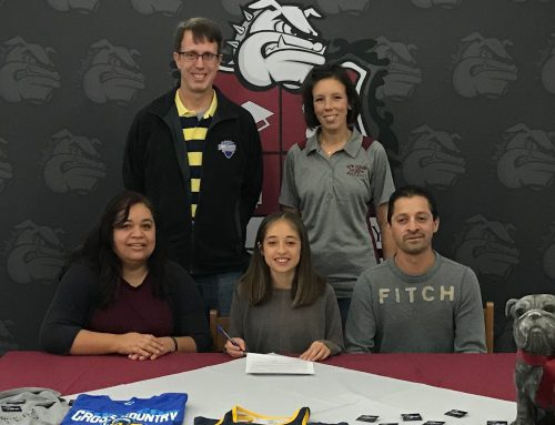 Favela Signs with Blue Mountain College XC