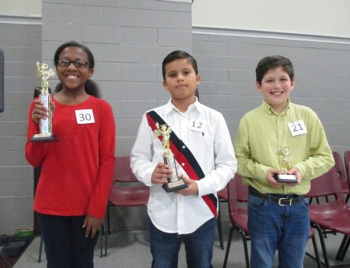 NAES Spelling Bee Winners