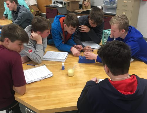 Life Skills Classes Participate in Science Labs