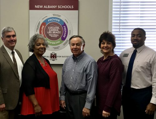 New Albany Schools Support Boys & Girls Club