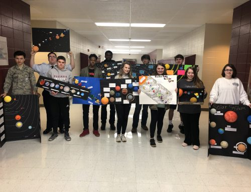 Earth & Space Science Students Study Solar System