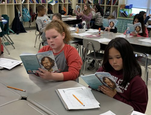 4th Grade Students Learn History Through Literature
