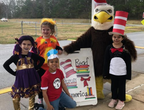 "NAES Celebrates ""Read Across America Day"""