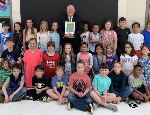 Book Signing at NAES – 2nd & 3rd Grade EXCEL