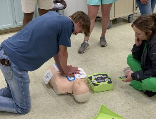 Interns Receive CPR Certification