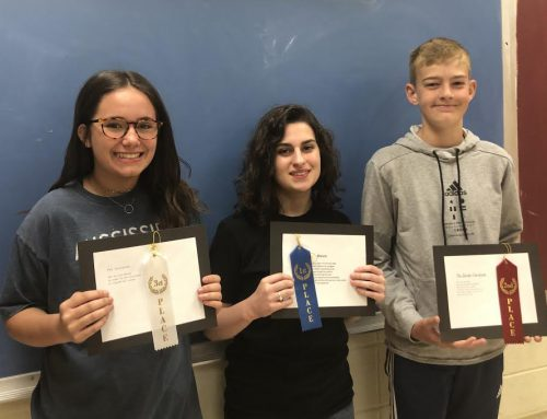 NAMS Poetry Contest Winners