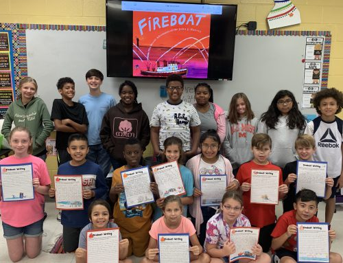 5th Graders Remember During Patriots Day Assignments