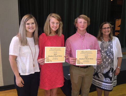 William Faulkner Literary Competition Winners