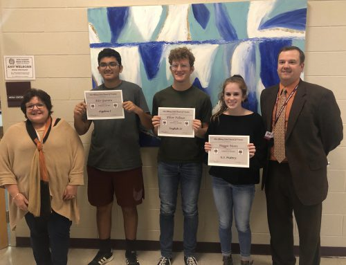 Perfect Scores Recognized at NAHS