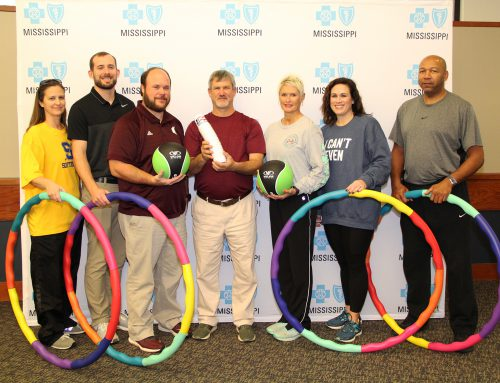 P. E. Teachers from Across the State Attend Physical Education Conference Hosted by the Blue Cross & Blue Shield of Mississippi Foundation