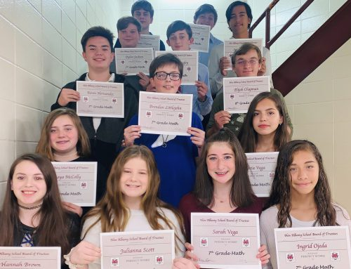 Perfect Scores Recognized at NAMS