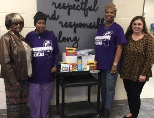 NAES Receive School Supplies Donation