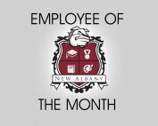 Picture of school crest - Employee of Month
