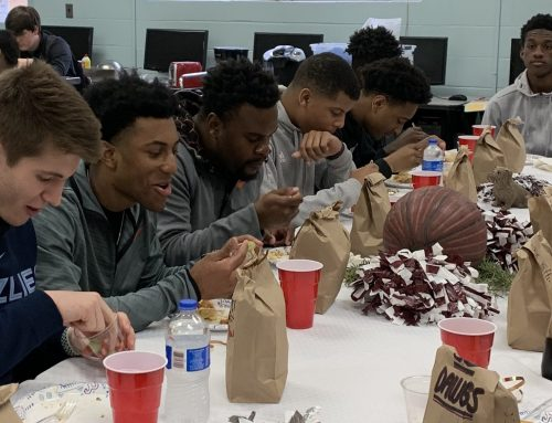 Breakfast Honors NA Boys Basketball Team