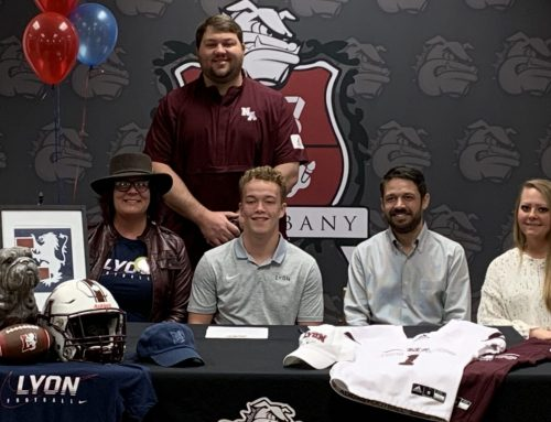 Adair Signs with Lyon College