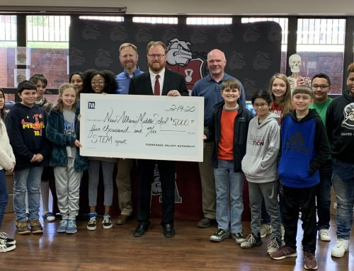 New Albany Middle School Awarded TVA STEM Education Grant