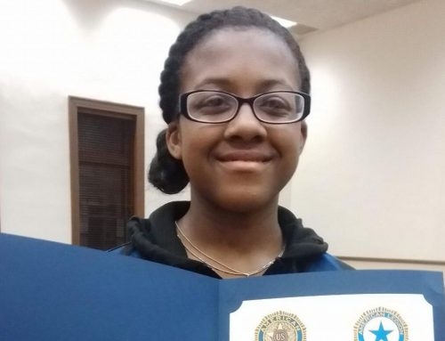 NAMS 6th Grader Wins County Spelling Bee