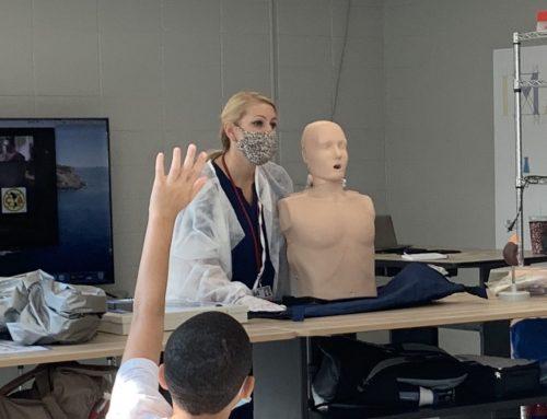 NAMS Nurse Discusses Careers in Healthcare