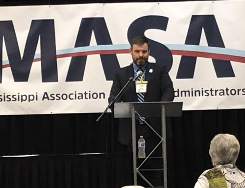 Evans Installed as MASA President