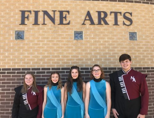 Five NAHS Band Students Selected to Lions Band