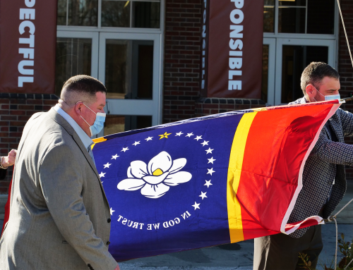 New State Flag Raised at NAES
