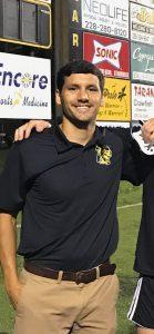 NAHS Boys Head Soccer Coach Austin Baker