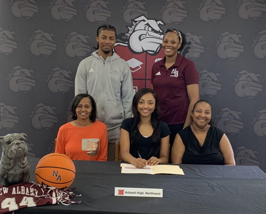 Ashanti High Signing with Northwest Basketball