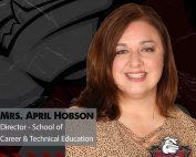 CTE Director April Hobson