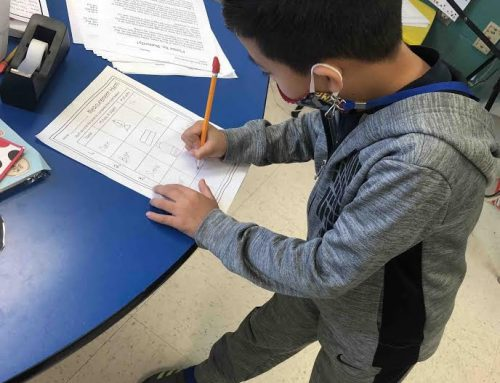NAES 2nd Graders Learn About Measuring