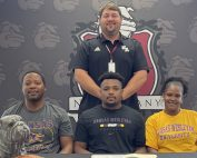 AI Nugent signs to play football with Kansas Wesleyan University