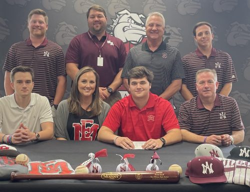 Gault Signs with East Mississippi Community College
