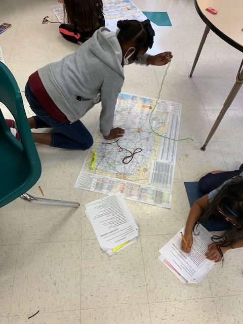 2nd Grade EXCEL students learn more about Mississippi