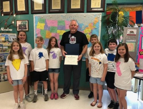 Reeder Honored for Promoting American History