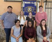 Kiwanis Club Scholarship winners