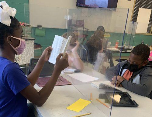 3rd Grade Students Enjoy Author Study