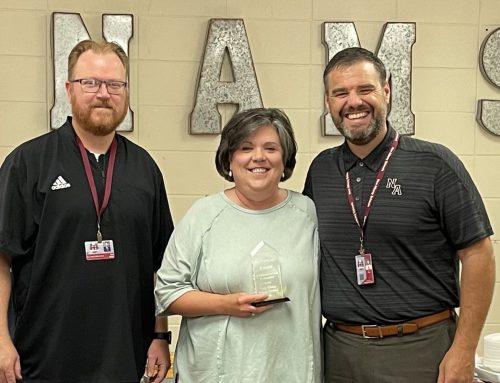 NAMS Honors Retirees