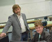 Kevin Wigington STAR Teacher with Aidan Garrett (West Union STAR Student)