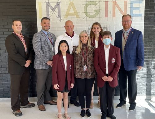 NASSP President Visits New Albany School District
