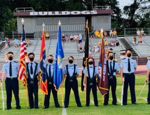 Football Color Guard – NAHS