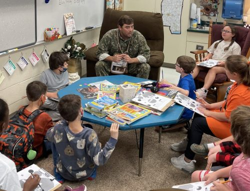 NAES EXCEL Class Learns about Ducks & Duck Calls